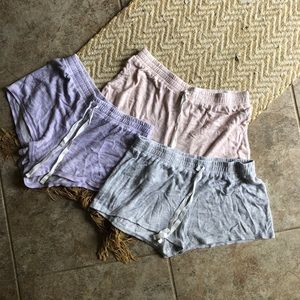 American Eagle sleep shorts size s-m